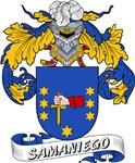 Samaniego Family Crest / Samaniego Coat of Arms