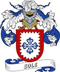 Sole Family Crest / Sole Coat of Arms