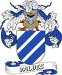Valdes Family Crest / Valdes Coat of Arms