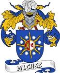 Vilchez Family Crest / Vilchez Coat of Arms