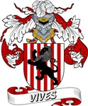 Vives Family Crest / Vives Coat of Arms