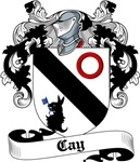 Cay Family Crest, Coat of Arms