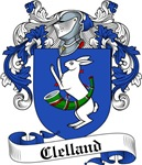 Clelland Family Crest, Coat of Arms