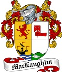 MacLaughlin Family Crest, Coat of Arms