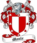 Maule Family Crest, Coat of Arms