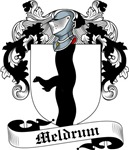 Meldrum Family Crest, Coat of Arms