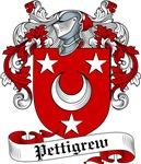 Pettigrew Family Crest, Coat of Arms