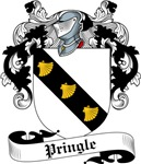 Pringle Family Crest, Coat of Arms