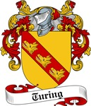 Turing Family Crest, Coat of Arms