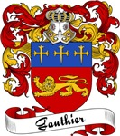 Gauthier Family Crest, Coat of Arms