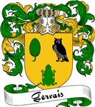 Gervais Family Crest, Coat of Arms