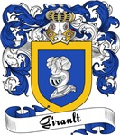 Girault Family Crest, Coat of Arms