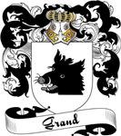 Grand Family Crest, Coat of Arms