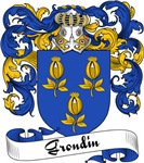 Grondin Family Crest, Coat of Arms