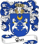 Gros Family Crest, Coat of Arms