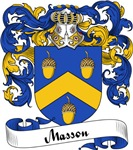 Masson Family Crest, Coat of Arms