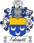 Falconetti Family Crest, Coat of Arms