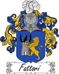 Fattori Family Crest, Coat of Arms