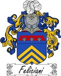 Feliciani Family Crest, Coat of Arms