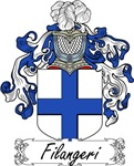 Filangeri Family Crest, Coat of Arms