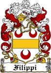 Filippi Family Crest, Coat of Arms