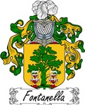 Fontanella Family Crest, Coat of Arms