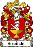 Brodski Family Crest, Coat of Arms