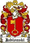 Jablonski Family Crest, Coat of Arms