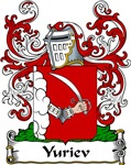 Yuriev Family Crest, Coat of Arms