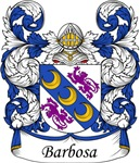 Barbosa Family Crest, Coat of Arms