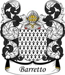Barretto Family Crest, Coat of Arms