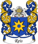 Reis Family Crest, Coat of Arms