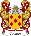 Tavares Family Crest, Coat of Arms