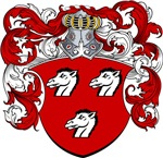 Haeck Family Crest, Coat of Arms