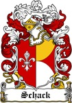 Schack Coat of Arms, Family Crest