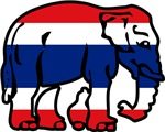 Thai Elephant Flag