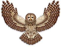 Beadwork Barred Owl