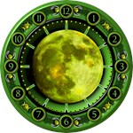 Clock of the Green Moon