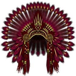 Native War Bonnet 09