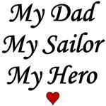 Navy My Dad Sailor Hero