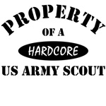 Property of a HARDCORE US Army Scout
