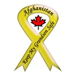 Afghanistan Grandson Safe Yellow Ribbon