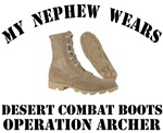 Operation Archer Nephew Desert Combat Boots