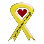 Keep My Brother-in-law Safe Yellow Ribbon