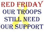 Red Friday Yellow Ribbon Troop Support
