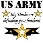 US Army My Uncles are defending your freedom!
