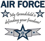 My Grandchild is defending your freedom!