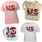 Army, Navy, Air Force and Marine Family Items