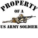 Property of a US Army Soldier