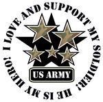 Military Stars Love and Support
